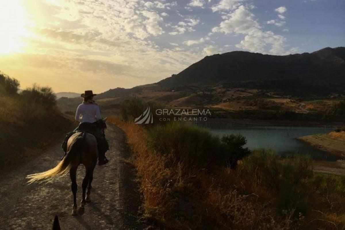 Ruta a caballo en Zahara de la Sierra Imagen