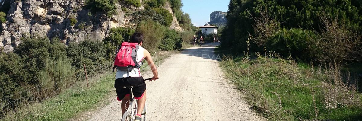 Ruta en bici en Grazalema Imagen
