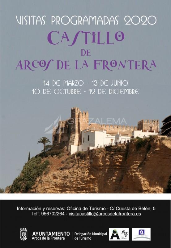 Visitas Programadas Castillo de Arcos de la Frontera Imagen